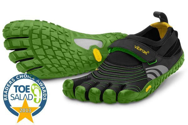 2013 Readers' Choice Award - Vibram FiveFingers Spyridon