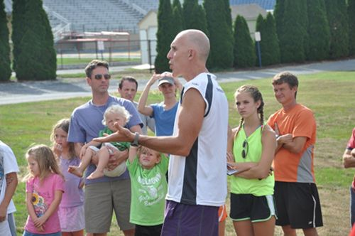 Christopher McDougall Born to Run Clinic