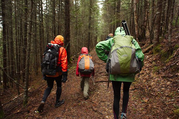 Backpacking the IAT in Quebec