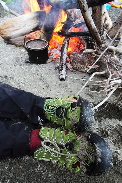 Inov-8 BareGrip 200 - Repairs by the fire