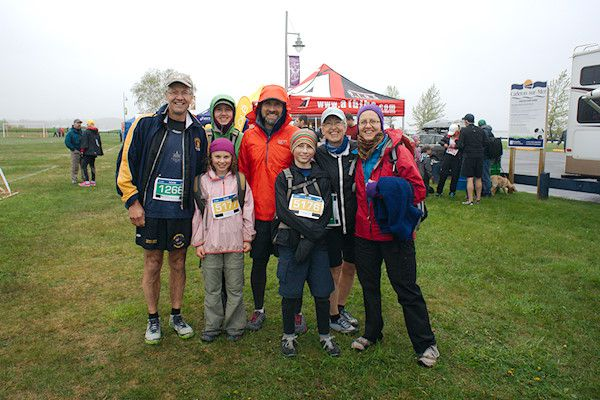 Marathon Baie-des-Chaleurs - Three generations of runners