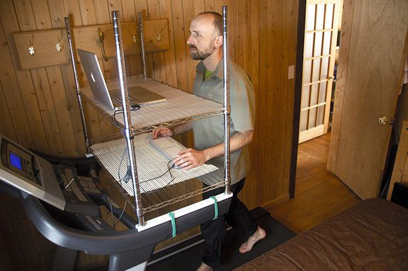Treadmill Desk - Side View