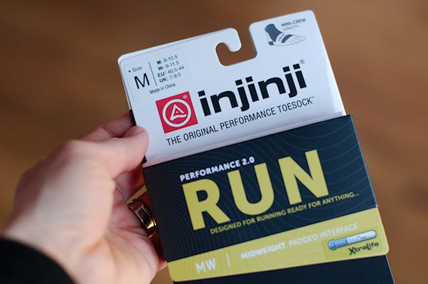 Injinji Performance 2.0 - Packaging
