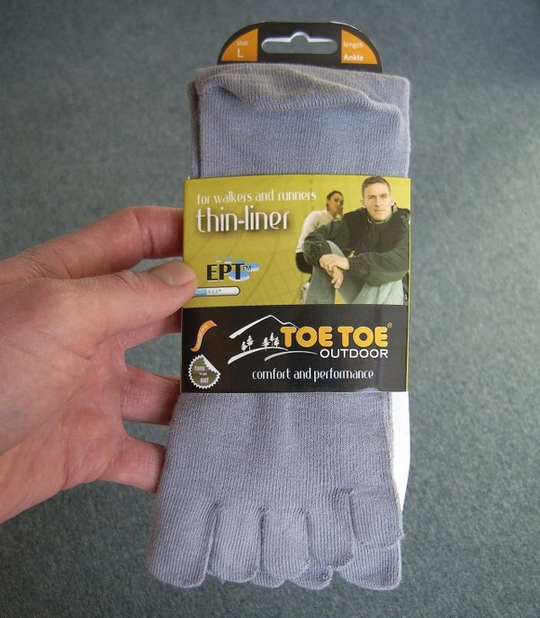 ToeToe liner socks - in the package
