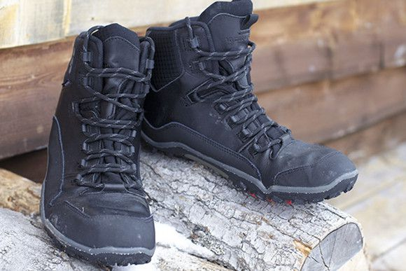 VIVOBAREFOOT Off Road Hi - Black