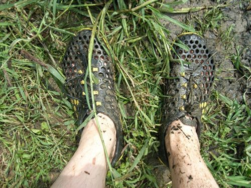 VIVOBAREFOOT Ultra - In the mud