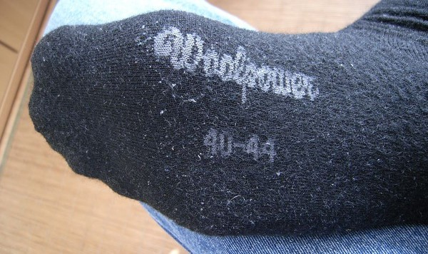 Woolpower - Liner socks pilling