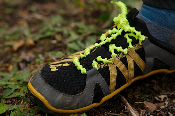 Xtenex Laces - On my VIVOBAREFOOT Breatho Trails