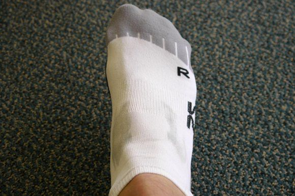 Zensah Minimalist Running Socks - Top